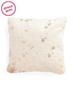 20x20 Nadine Cowhide Pillow