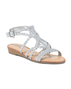 Demi-wedge Sandals