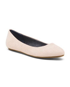 Comfort Perforated Ballet Flats
