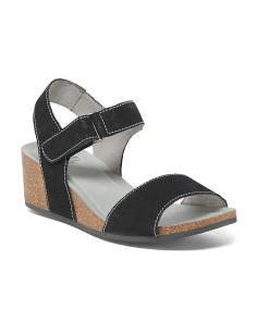 One Band Suede Sandals