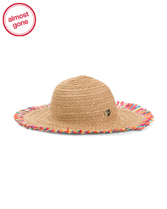 Floppy Hat With Fringe