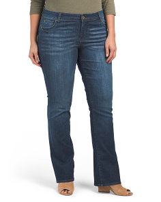 Plus Natalie High Rise Bootcut Jeans