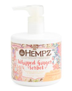 Whipped Ginger Sorbet Body Wash & Bubble Bath