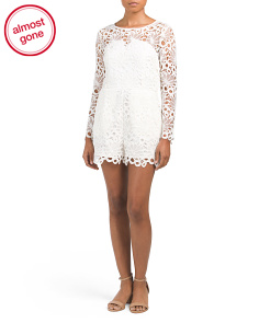 Lace Chance Meeting Romper