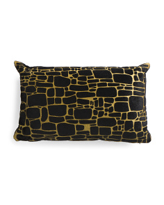 12x20 Brick Print Pillow