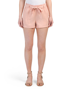 Tencel Paper Bag Shorts