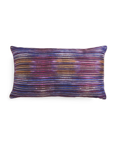 14x26 Metallic Detailed Pillow