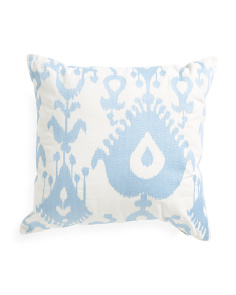18x18 Ikat Pattern Pillow