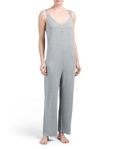Heathered Lounge Jumpsuit