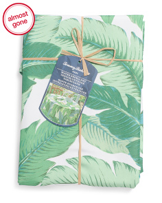 Banana Leaves Indoor Outdoor Table Cloth