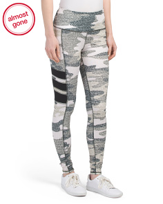 Camo Printed Tummy Control Leggings