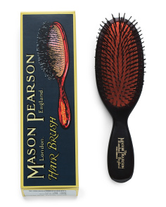 Pocket Boar Bristle Hair Brush