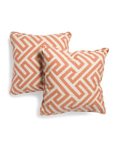 20x20 2pk Keyes Spice Pillow