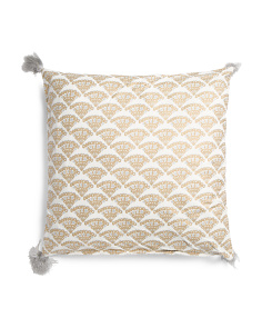 Made In India 20x20 Binx Medallion Pillow