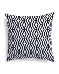 Made In USA 22x22 Patterned Pillow