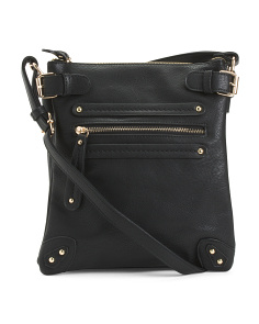 Triple Compartment Crossbody