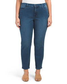 Plus Made In USA Alina Skinny Jeans