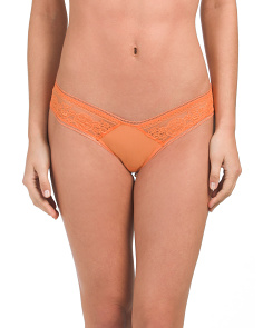Made In Italy Lace Hipster Panties