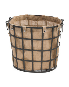 Small Industrial Lined Storage Basket