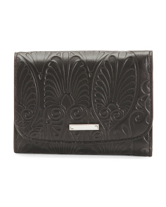 Denia Mallory Leather French Purse