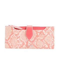 Kate Sandy Multi Pouch Leather Wallet