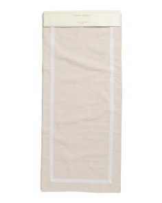 Made In India Rosemary Table Runner