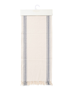 Made In India Viviana Stripe Table Runner