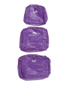 3pc Packable Pouches Set