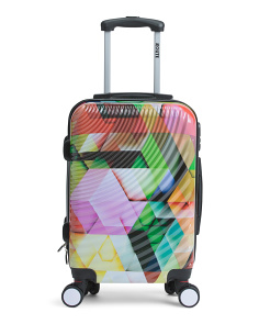 20in Printed Hardside Carry-on