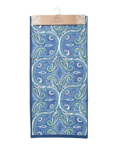 Made In India Aria Paisley Table Runner