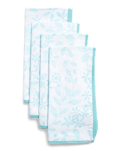 Made In India Set Of 4 Bandhini Napkins