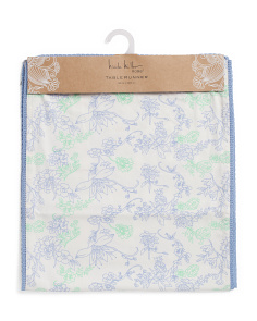 Made In India Nella Spring Floral Runner