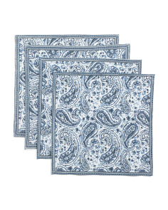 Made In India Set Of 4 Tonya Paisley Placemat