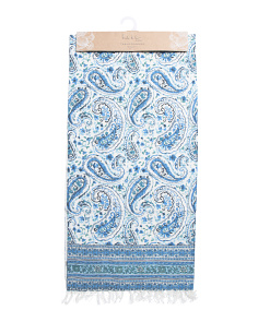 Made In India Tonya Paisley Table Runner