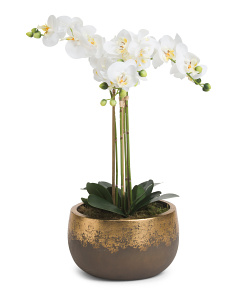 Small Faux Orchid