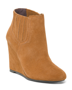Wedge Twin Gore Booties