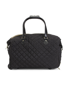 Quilted Rolling Weekender