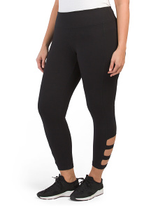 Plus Active Curvy Capris