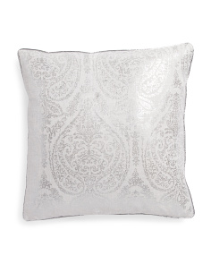 20x20 Nelly Metallic Pillow