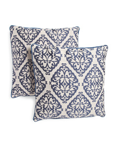 20x20 2pk Priya Medallion Pillow