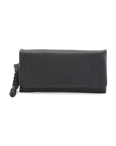 Leather Kitts Convertible Wallet