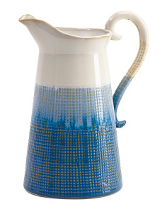 Ombre Ceramic Pitcher
