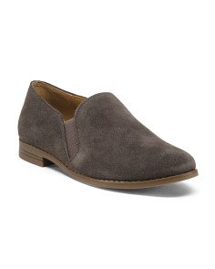 Easy Slip On Suede Loafers