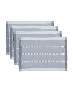 Made In India 4pc Tonal Weave Placemats