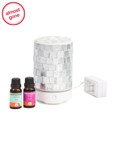 Crystal Essential Oil Diffuser