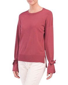 Karenia Sweater With Sleeve Detail