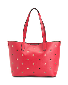 Loren Eyelet Shopper