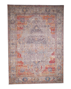 Made In Turkey 7x10 Vintage Area Rug