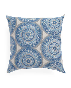 17x17 Medallion Pattern Pillow