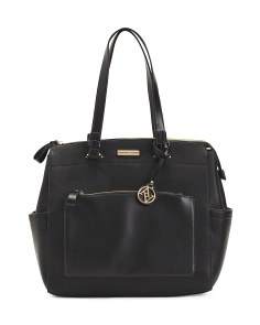 Lock Front Large Satchel